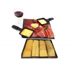 Raclette Tradition Fromage et Charcuterie